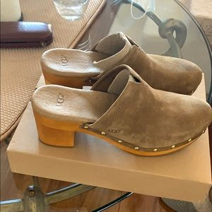 Clogs, used once